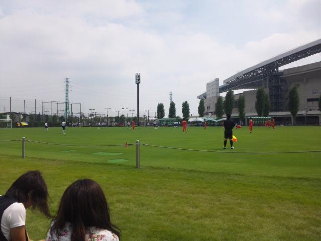11時00分埼玉スタジアム第3グラウンド